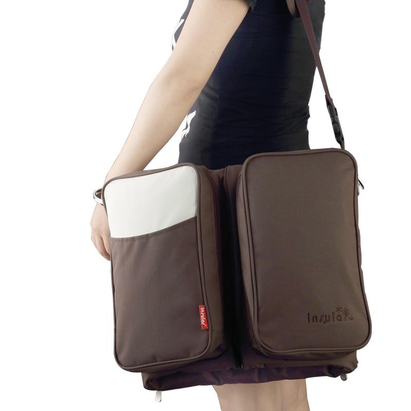 Fashion Diaper Bag Designer Backpack Organizer Nappy Baby Waterproof Newborn Diaper Wet Bag Nylon Hobos Zipper Big Mother Bags