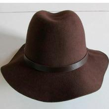 Compra brown felt hat y disfruta del envío gratuito en AliExpress.com 54e8692e308