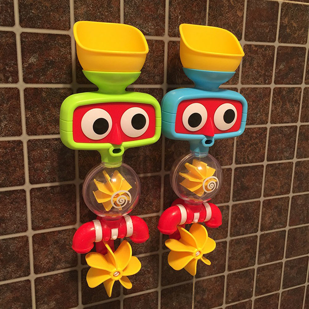 2017 Hot Multicolor Fun Baby Bath Toys Automatic Spout Play Showers ...