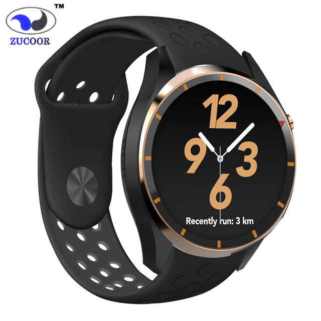 Сенсорный Экран Smart Watch Реального Времени Частоту Сердечных Сокращений ZW58 Фитнес-Трекер Шагомер Bluetooth Гарнитуры GPS/Wi-Fi/WCDMA Часы Android 5.1