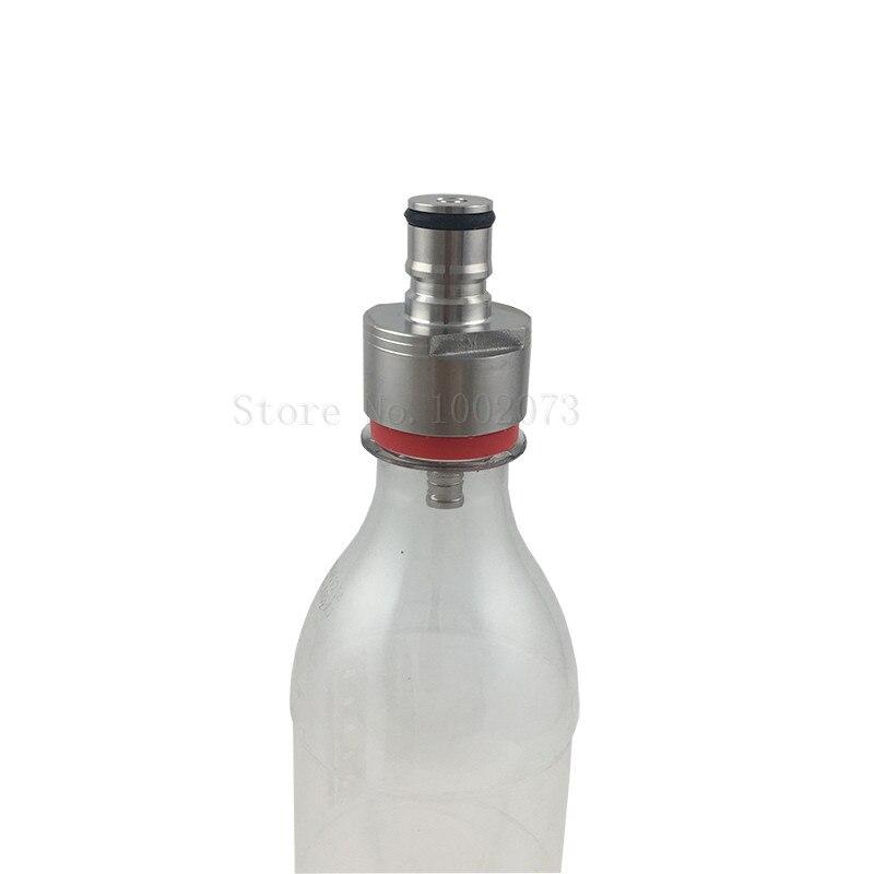 Homebrew Counter Pressure bottle Filler Carbonation cap line cleaner cap fit soft drink PET bottles (6)