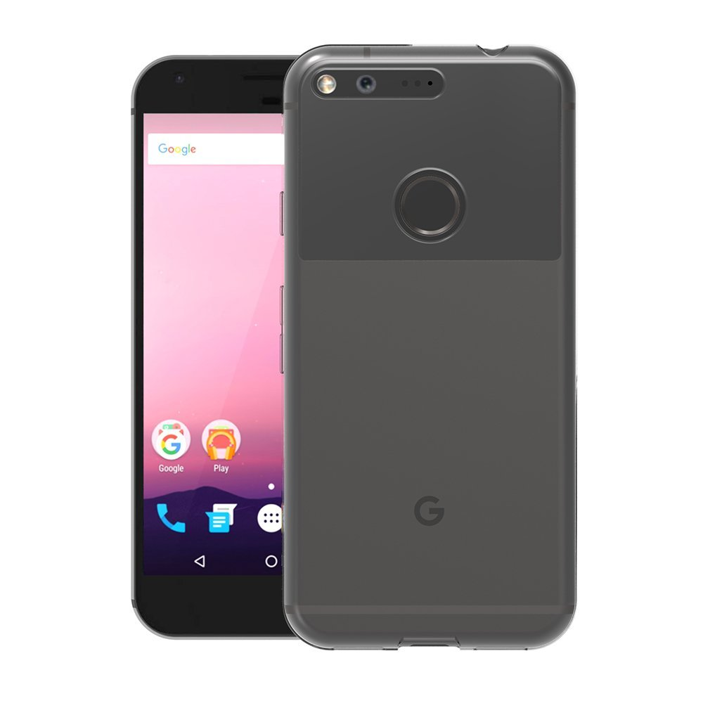 For Google Pixel 3 XL Soft TPU Silicone Gel Clear Back