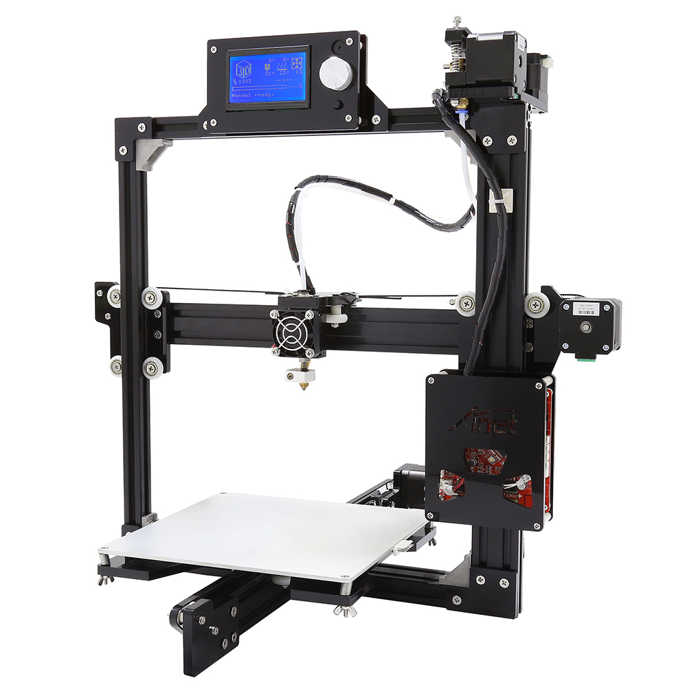 Anet A2 Plus 3D Printer Aluminum Metal Three Dimensional