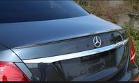 Carbon Fiber Car Rear Trunk Lip Spoiler Wing Fit For Mercedes Benz W213 E Class E200 E220 E250 E300 AMG Style 2016 2019 BY EMS