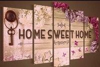 5pcs Sweet Home Photo Decor Full Square 5D Diy Diamond Painting Mosaic Drill Resin Embroidery Needlework 3D Cross Stitch Kits