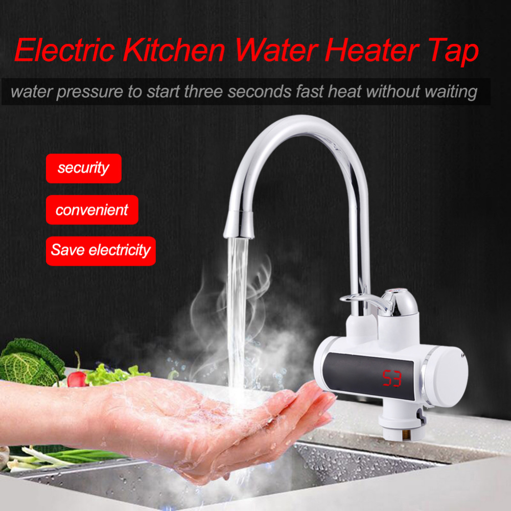 220V 850-3000W Electric Hot Faucet Water Heater Electric