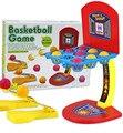 Разноцветные мраморы родитель ребенок семья рабочего баскетбол хооп развивающие игры на улице и спортивные игрушки для детей