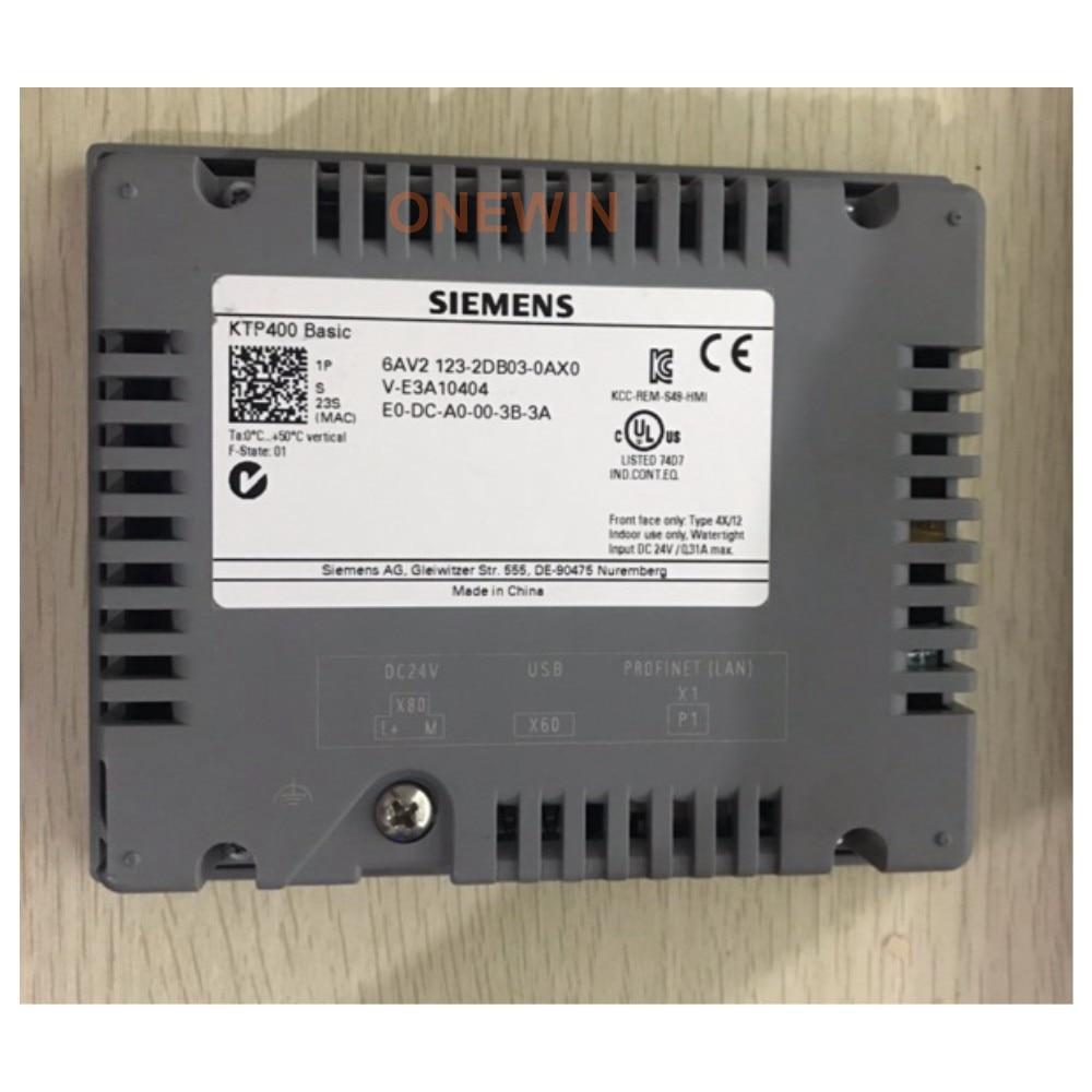 new and original  6AV2123-2DB03-0AX0 HMI Touch Screen 4.3 inch Human Machine Interface Panel KTP400 BASIC 6AV2 123-2DB03-0AX0