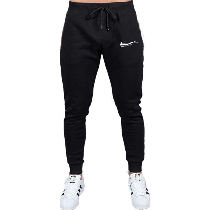 Model Print emblem Gyms Males Joggers Informal Males Sweatpants Joggers Pantalon Homme Trousers Sporting Clothes Bodybuilding Pants Skinny Pants, Low cost Skinny Pants, Model Print emblem Gyms Males Joggers...