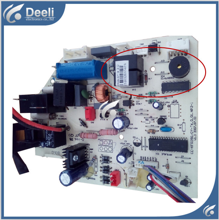 95% new good working for of air conditioning computer board motherboard control board CE-KFR35G/DY-T6 D.01.NP2-1 indoor air conditioning parts mpu kfr 35gw dy t1 computer board kfr 35gw dy t used disassemble