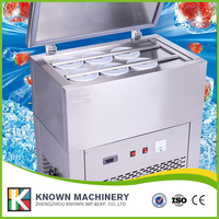 CE Approved 1500W 6 Blocks Stainless Steel Body Commercial Continuous Ice Machine Pricewith 220V 50HZ 60HZ