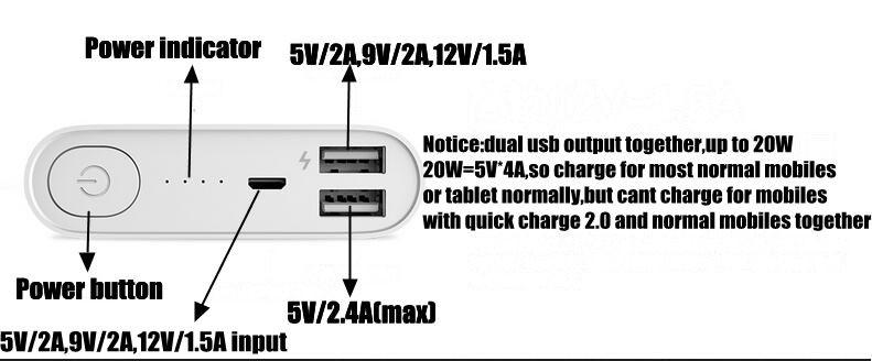 letv power bank output