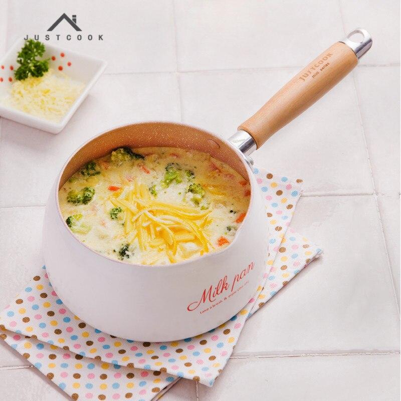 Life83 16 CM Useful Portable No Stick Pot Mini Milk Pans Chocolate Milk Soup Heating Pot
