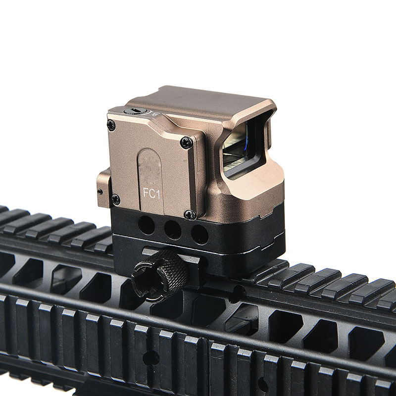 FC1 2MOA Red Dot Sight Scope Collimated Optic Sight Reflex Sight fit 20mm Rail for Hunting Sniper Rifle Holographic Sight el 1400 holographic red dot sight reflex sight 21mm rail mirino laser per carabina hunting optica scope