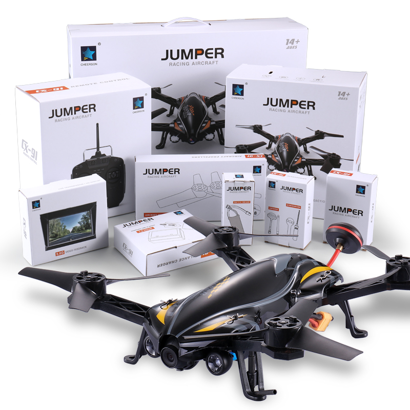 Cheerson Helicopter CX-91 JUMPER 6CH 6Axis UAV With 2MP camera 8G Card Racing drone brushless motors High-speed RC aircraft cheerson cx 32s drone with 2mp camera lcd 4ch 6axis helicopter with fpv 5 8g video real time transmision hight hold aircraft