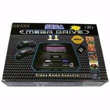 New Customize 16bit Sega Mega Drive 8 MD2 apoio cartão SD gb Video Game Console Jogador Retro Video Game Console com Controlador de 2