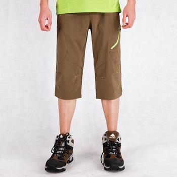 Męskie boisko sportowe szorty lato nowy duży rozmiar stretch długość do połowy łydki szorty męskie wilgoć pochłaniające szybkoschnący szorty 2019 tanie i dobre opinie Camping i piesze wycieczki NYLON spandex Czesankowej Pasuje prawda na wymiar weź swój normalny rozmiar 72985 moisture wicking quick-drying shorts