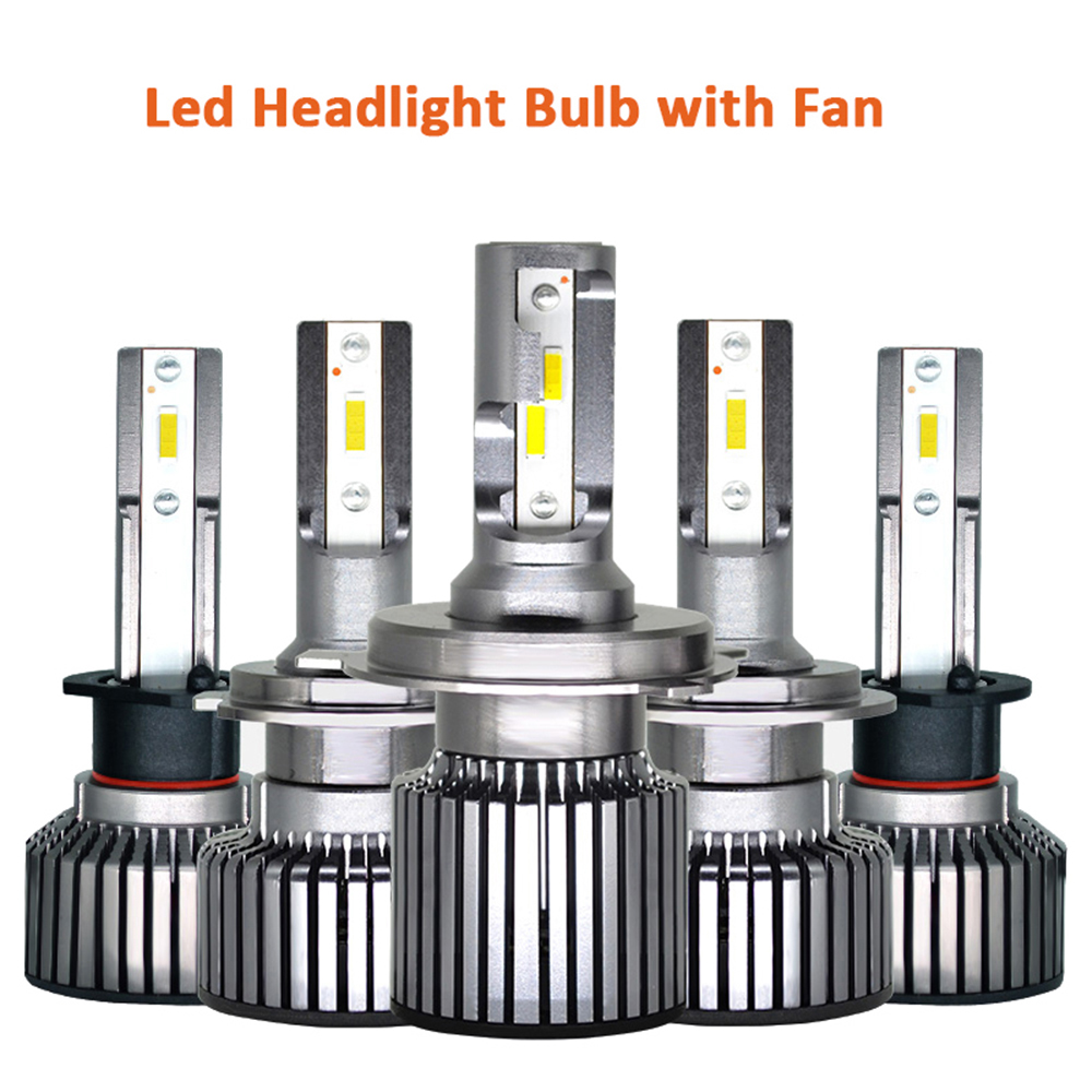 Auto <font><b>Led</b></font> <font><b>Headlight</b></font> Bulbs H1 H4 <font><b>H7</b></font> H11 H8 H9 9005 9006 HB3 HB4 9012 HIR2 High Low Lamp Fog Light 12V 24V Car Canbus Automotivo image