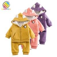 Baby Winter Suits Girls 0 1T Newborn Boys Thicken Cashmere Winter Dress 3 Fashion Sheep Infants