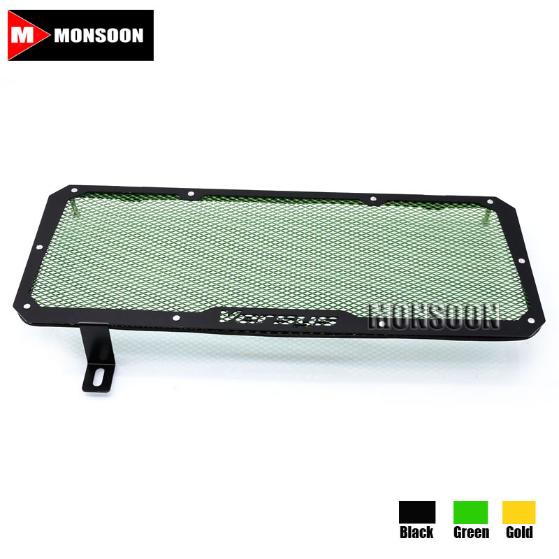 For Kawasaki Versys 650 Versys650 2015-2016 Motorcycle Accessories Radiator Grille Guard Cover Fuel Tank Protection Net Green motorcycle radiator grille grill guard cover protector golden for kawasaki zx6r 2009 2010 2011 2012 2013 2014 2015