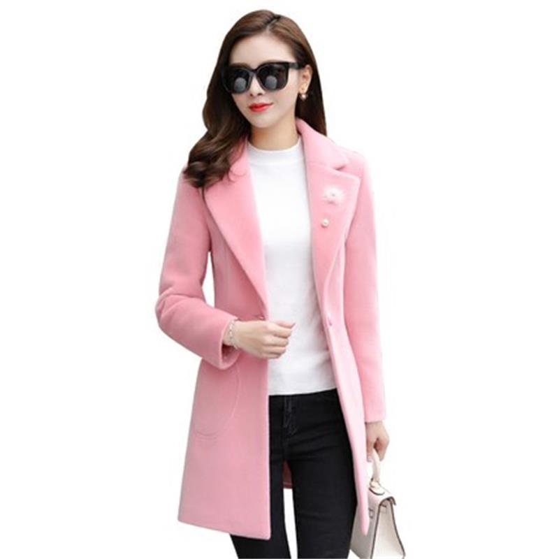 Et Nouveau Coréenne Automne Mode Long Femme Des Txy07 2 Paragraphe 1 2018 D'hiver Manteau Version Femmes Mince BAB8wvqS