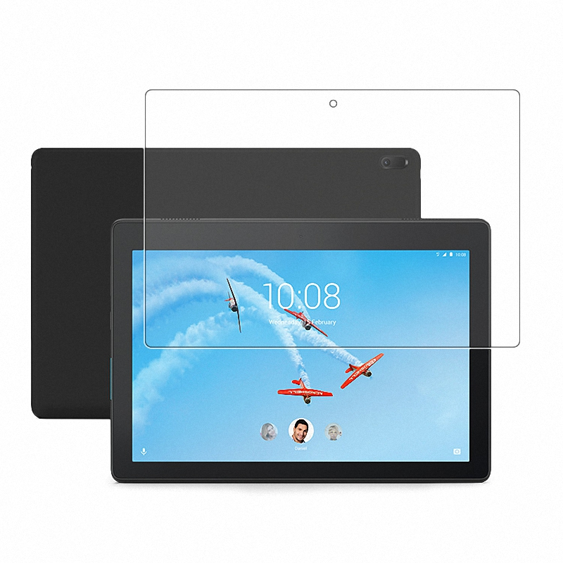 Tempered Glass Screen Protector CASE For Lenovo Tab E10 TB-X104F TB-X104L Tab M10 E7 E8 P10 TB-X605F TB-X605L Tablet Glass Film