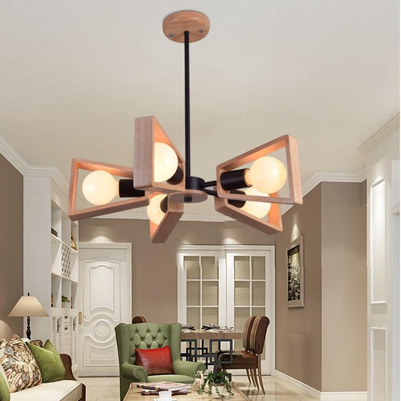 lukloy moderna lmpara colgante de luces de la cocina isla de comedor madera rama de decoracin sala de estar bajo techo accesor