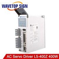 WaveTopSign AC Motor Servo Driver L 400Z Controller Input Voltage AC187 240V 50 60HZ Match Servo Motor 50 400W
