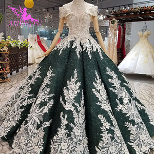 Image 3 - AIJINGYU ciążowe suknie ślubne w stylu Vintage suknia nowy dla nowożeńców Boho Chic nosić suknie ślubne w stylu Vintage sukienka z rękawami
