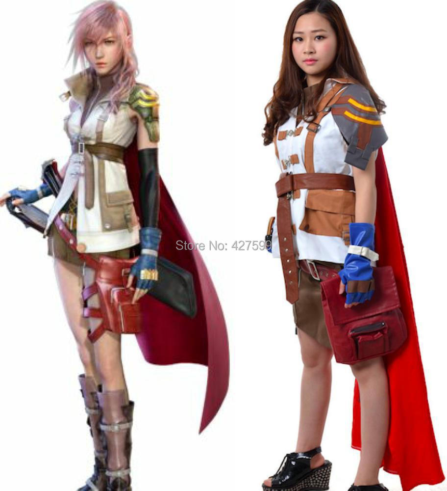 hot sale final fantasy xiii 13 lightning halloween costume cosplay costume china - Sale Halloween Costumes