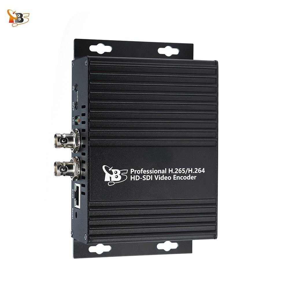 TBS2600V1 HD-SDI professionnel H.265 H.264 encodeur vidéo pour la diffusion en direct prend en charge les protocoles ONVIF RTMP RTSP HTTP UTP