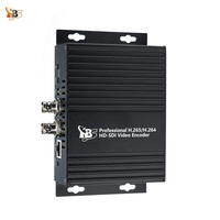 TBS2600V1 Professional HD SDI H.265 H.264 Video Encoder for Live Streaming Support HTTP UTP RTSP RTMP ONVIF Protocols