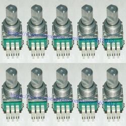 ¡Toda la venta! 20 unids/lote interruptor de ajuste giratorio para potenciómetro DCS1091 para PIONEER DJM400 DJM 400