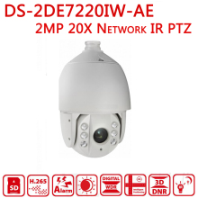 Network IR Speed Dome hikvsion DS-2DE7220IW-AE CCTV video surveillance IP Speed dome Camera PTZ 1080P 20X Pan tilt zoom IR 150m