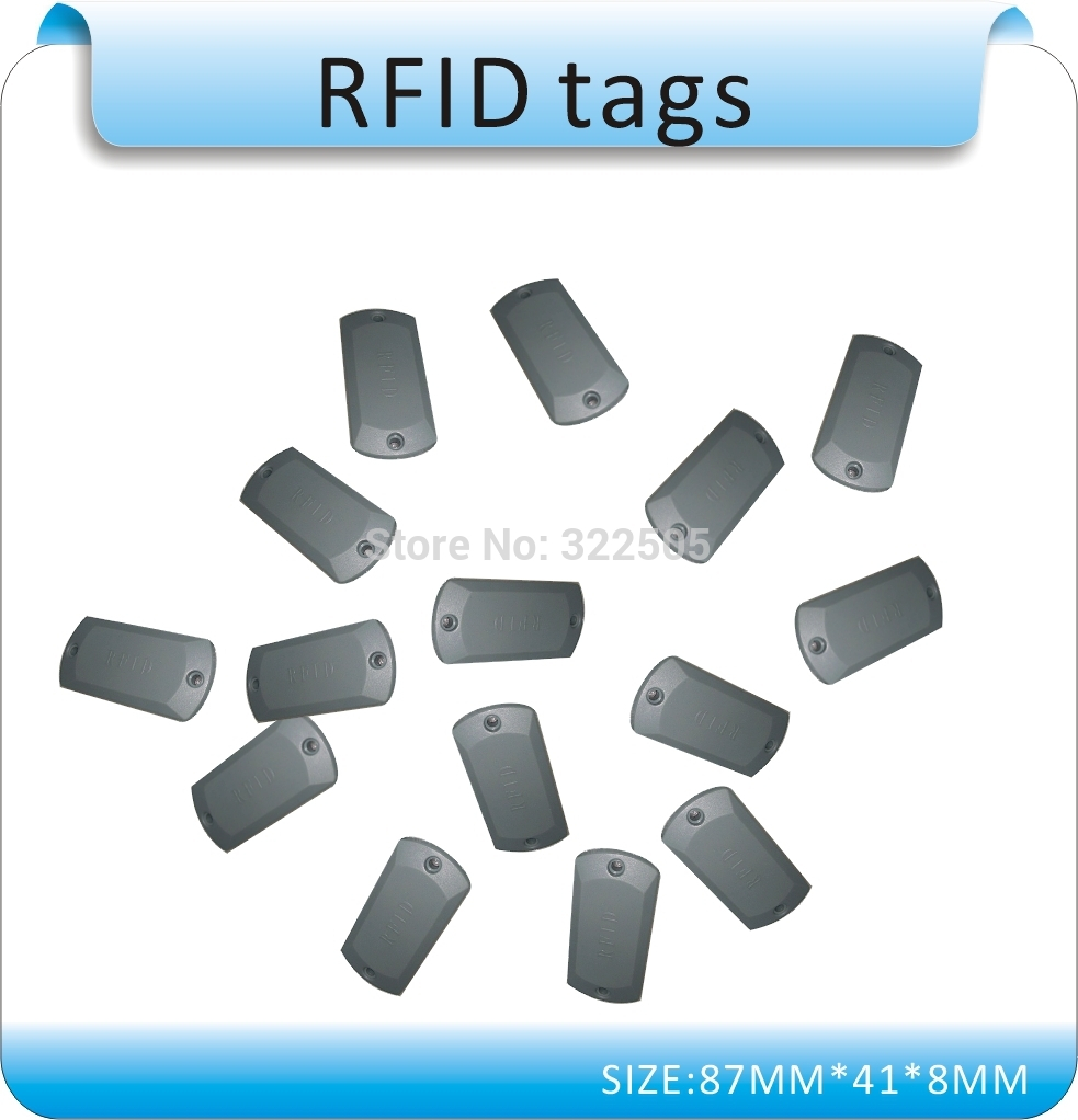 Купить с кэшбэком 100pcs Specializing in the production of Metal interference RFID tags , 13.56MHZ M1 chips , ISO14443A/15693