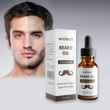 30ml Men Beard Oil Nourishes Soft Beard Care Essential Oil 100% Natural Organic Men Beard Growth Oil Suitable for All Skin Types 1