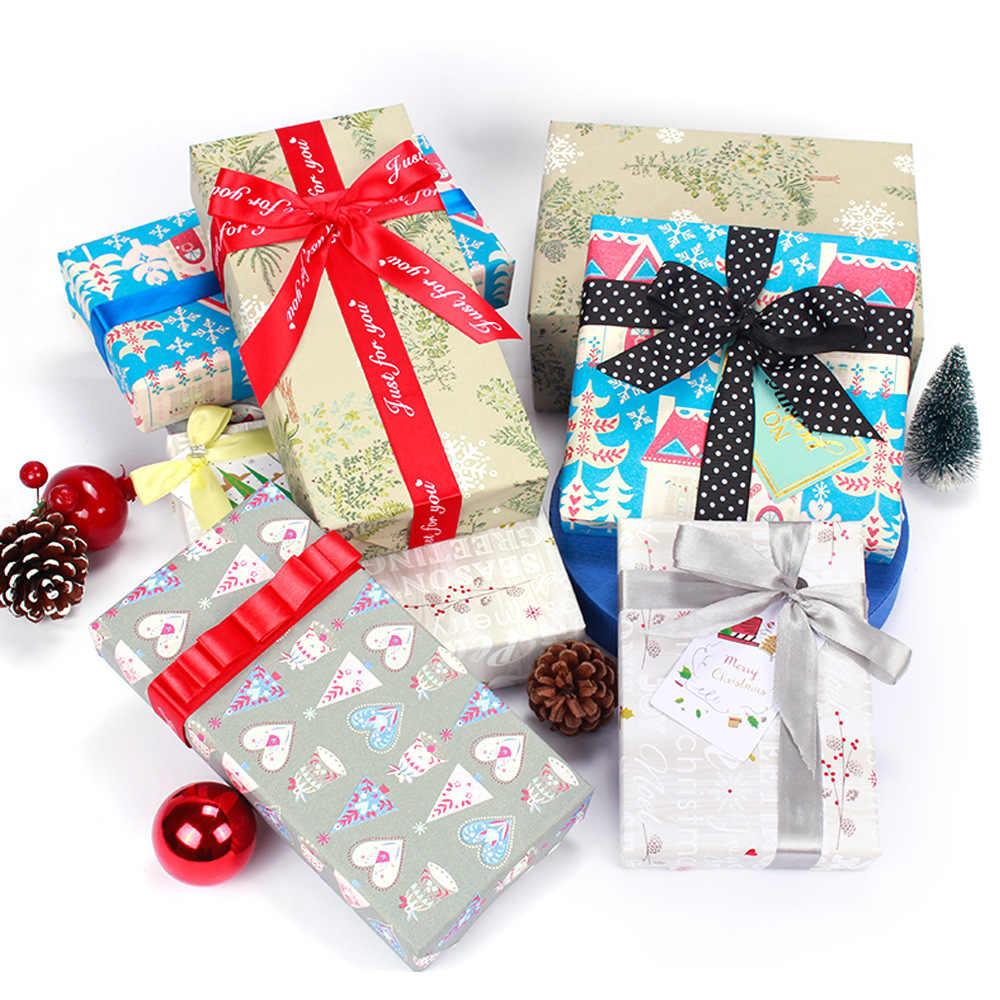 50x70cm Hediye Noel sarma kağıdı rulosu Düğün Çocuklar için Doğum Günü Tatil Bebek Duş Hediye Paketi kraft el işi kağıdı Dekor Hediyeler