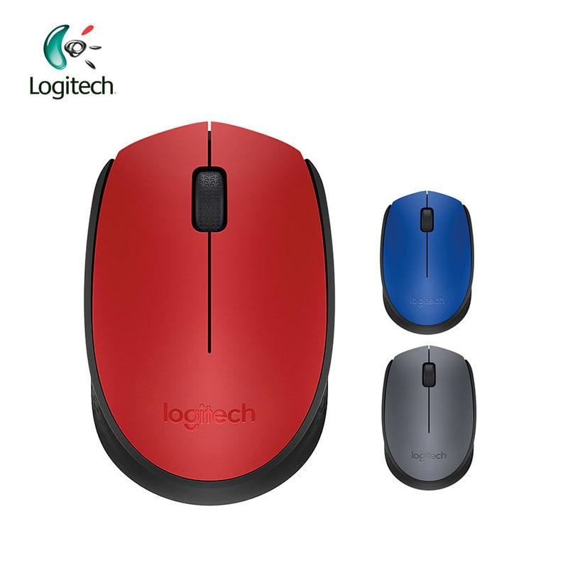 Logitech M170 2.4G trådlös mus med 1000dpi lösningsnätmottagare för PC-spelstöd Officiell verifiering
