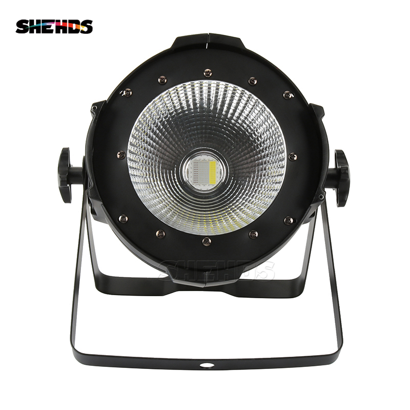Novelties LED Par COB 200W RGBW 4in1 Lighting Aluminum Housing Quad DMX512 Stage Light Theaters Churches Concert Lighting SHEHDS