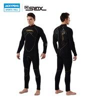 SLINX KEŞFEDİN 1106 5mm Neopren Erkekler Tüplü Dalış Takım Polar Astar Sıcak Wetsuit Dalış Uçurtma Sörf Spearfishing Mayo