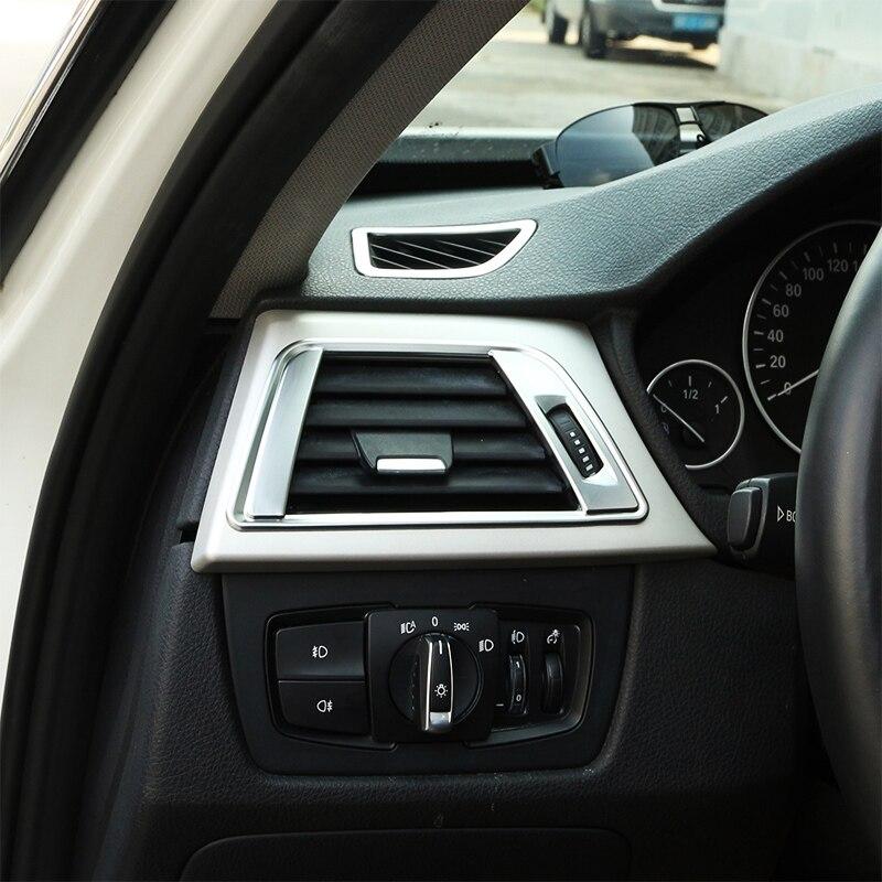 2017 Bmw 6 Series Gt Vs Bmw 5 Series Gt Interior Dashboard: 2pcs Chrome ABS Dashboard Side Air Vent Frame Cover Trim