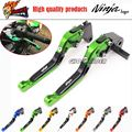 fits for KAWASAKI NINJA 250/300 2013-2015 Motorcycle Accessories Adjustable Folding Extendable Brake Clutch Levers