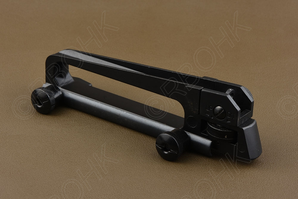 HOT Tactical carry Handle Mount A1A2 Scope Mount Weaver Picatinny Rail See-throu