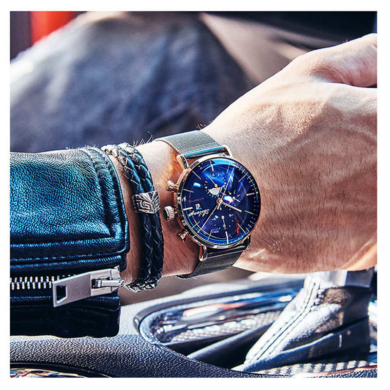 Image 5 - AILANG Design Brand Automatic Swiss Watch Men Mechanical Diver Watches Men's Diesel Watch SSS Minimalist male 2019 Minimalism-in Mechanical Watches from Watches