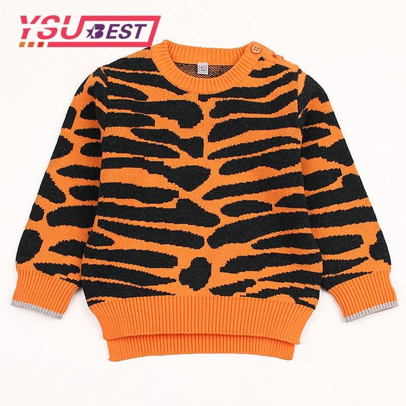 0-3yrs Mädchen Leopard Print Strickjacke Jungen Leopard Pullover Baby Strickjacke 2019 Neue Frühjahr Jacke Mädchen Baby Boy Knit Pullover Dauerhafte Modellierung