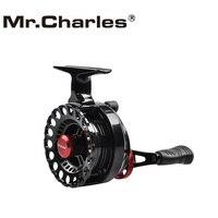 Mr. charles Neue NND-H65 Getriebe verhältnis 3 6: 1Semimetal Angeln Links/Rechts Hand Fly Fishing Reel Floß Eis Angeln Reel Fly Reel