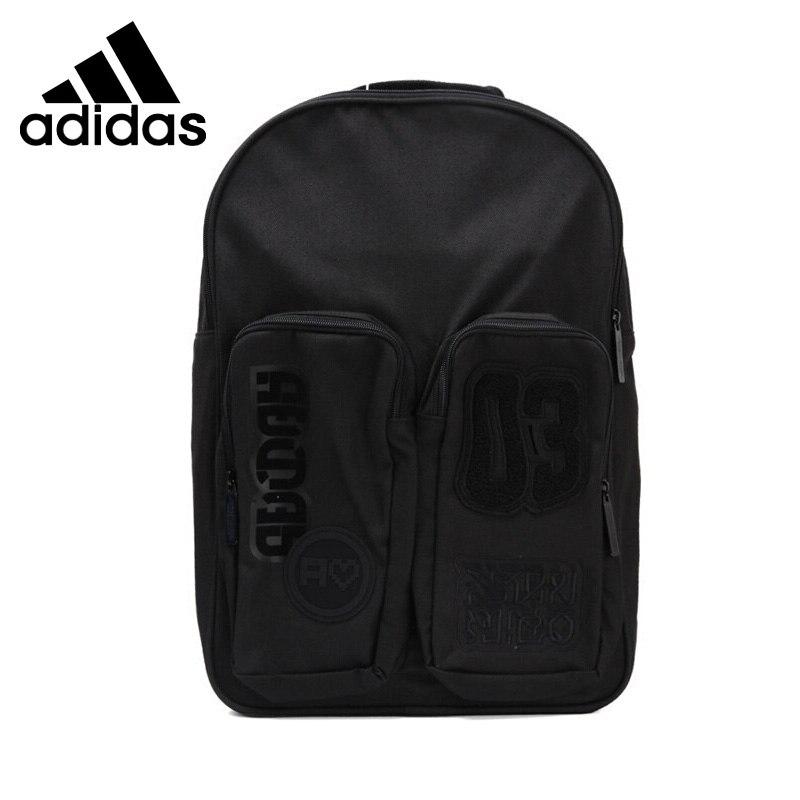 Original New Arrival Adidas Originals BP CLAS BADGES Unisex Backpacks Sports Bags