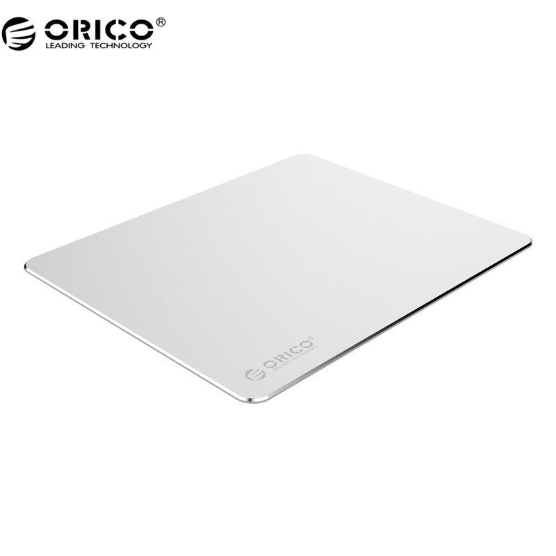 ORICO AMP2218 Mini Aluminum Metal Mouse Pad Computer Gaming Mouse Pad Silicone Anti-slip Mouse Mat for Laptop PC Keyboard Desk