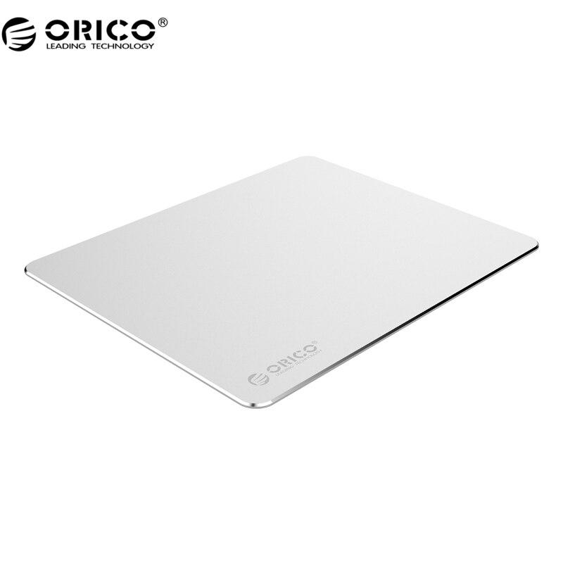 ORICO AMP2218 Mini En Aluminium Métal Souris Jeu D'ordinateur de Tapis de Souris Pad Silicone Anti-slip Souris Tapis pour PC Portable clavier de Bureau