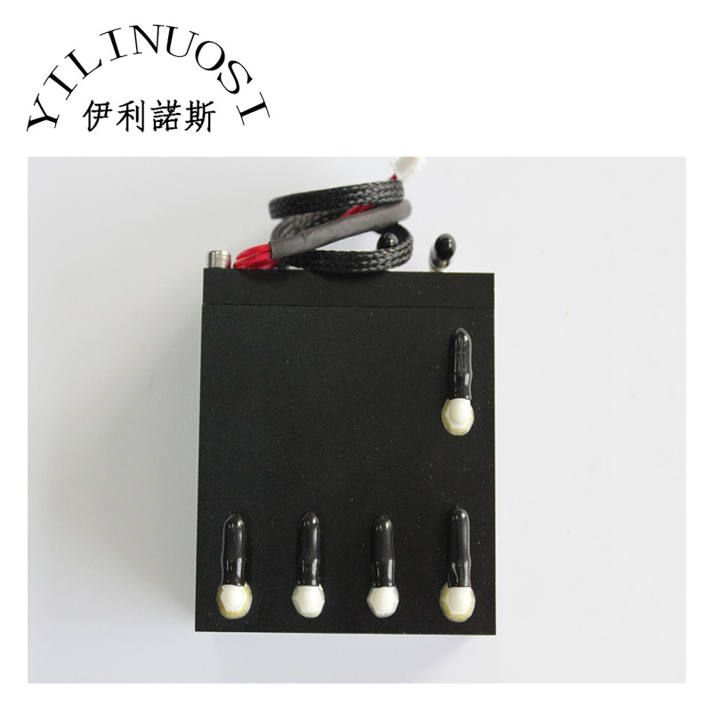 100ml aluminum sub tank with sensor printer spare parts hot sale uv flatbed plotter printer spare parts gongzheng gz thunderjet black sub ink tank with level sensor